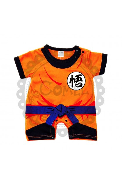 Comel Boys Girls Dragon Ball Costume Romper Cosplay Outfit