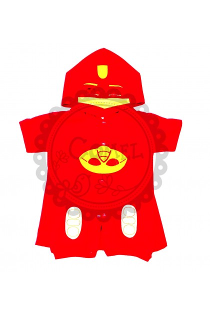 Comel Boys Girls Costume Romper Cosplay Outfit