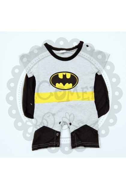 Comel Boys Girls Bat man Costume Romper Cosplay Outfit
