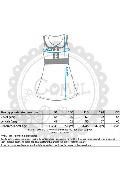 Comel Baby Costume Dress Woody Girl Cosplay Outfit